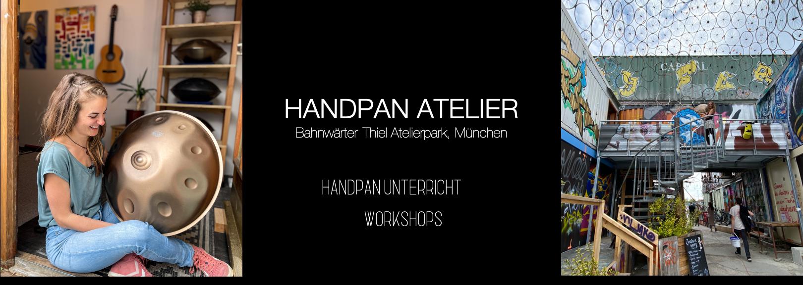 Handpan Atelier München im Bahnwärter Thiel Containerkollektiv